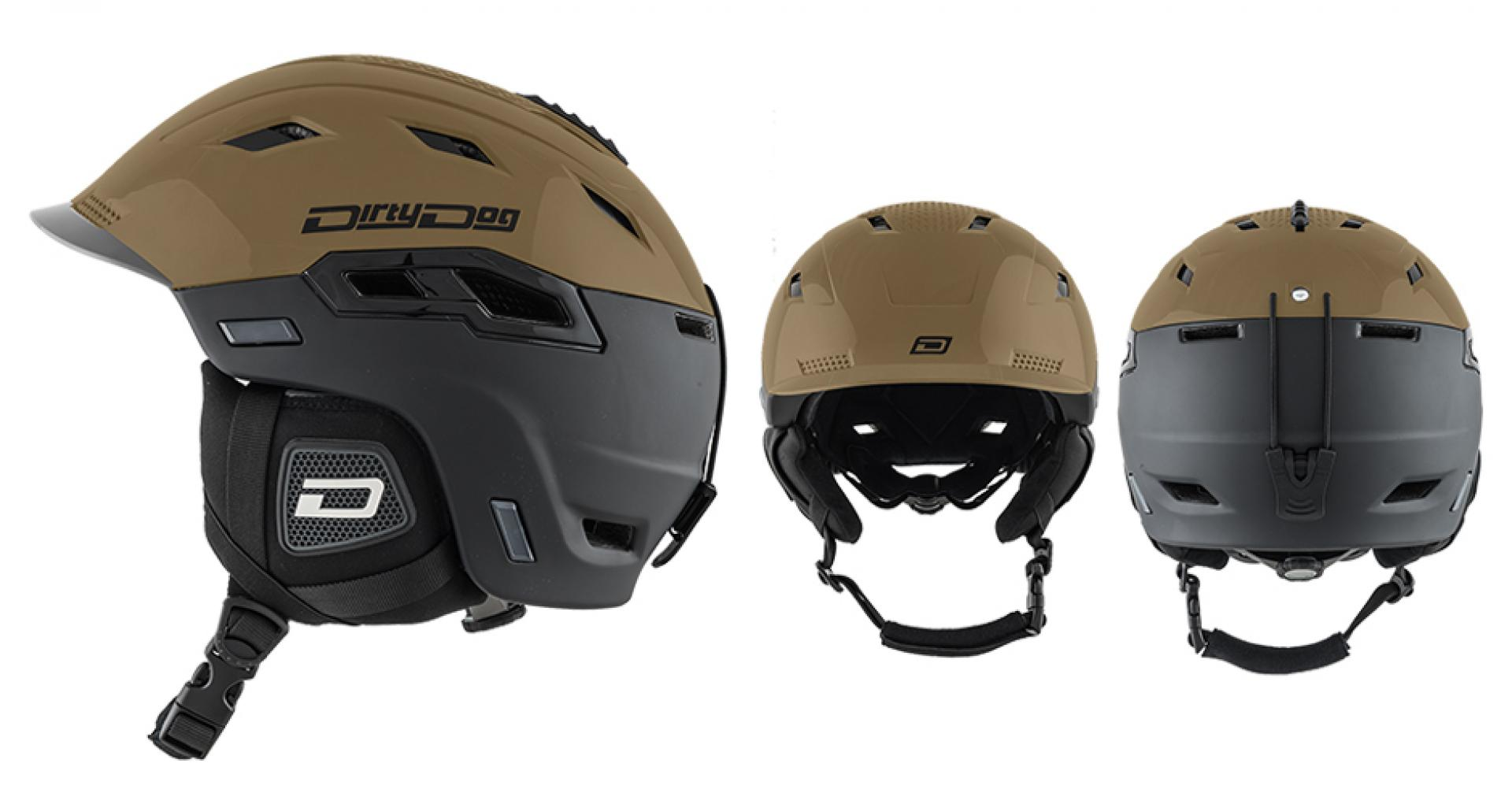 Dirty Dog Crater SnowboardSki Helmet