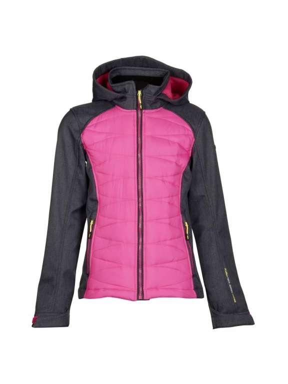 93b8b220ff Killtec Youths Kids Neema Soft shell jacket hot pink