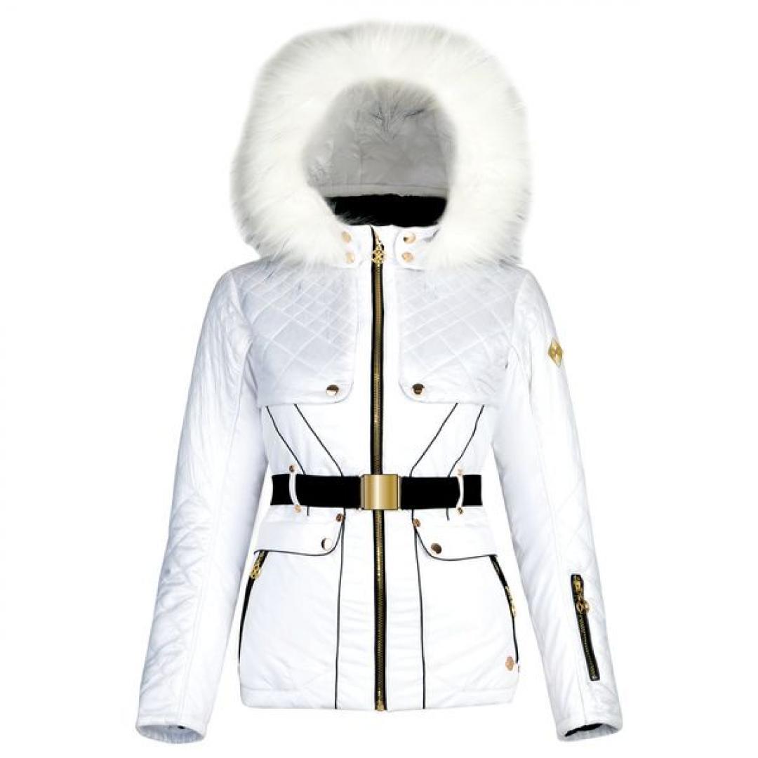 D2B White Ski Jacket
